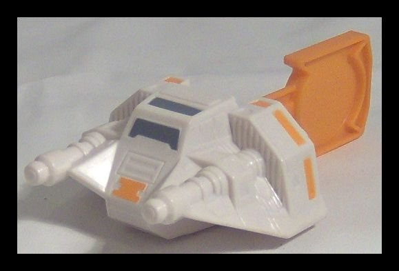 SNOWSPEEDER Star Wars COMPLETE THE SAGA Burger King Toy Week 2 Kids Meal
