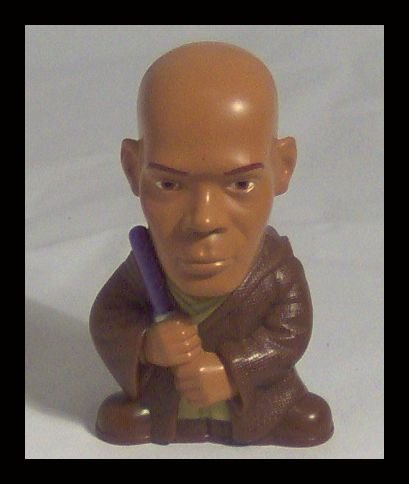 MACE WINDU Star Wars COMPLETE THE SAGA Burger King Toy Week 2 Kids Meal