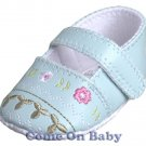 New Infant Girls Toddler Baby Crib Shoes 0-3m NB