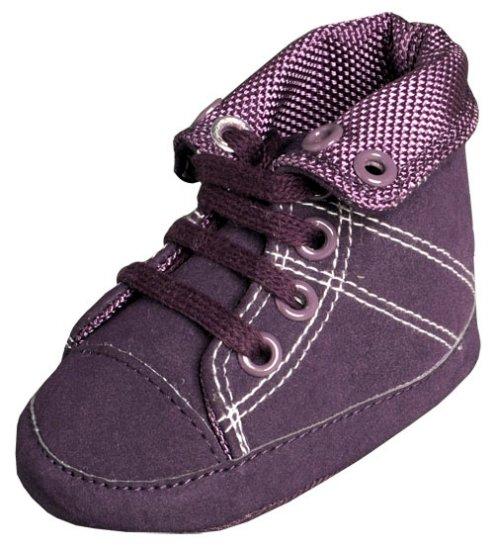 New Infant Girls Toddler Baby Crib Shoes 3-6m (b02202)