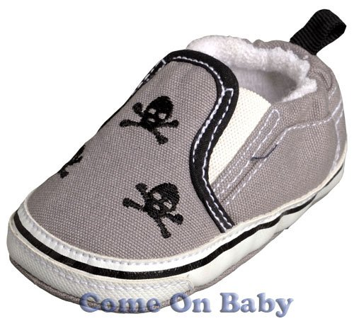 New Infant Boys Toddler Baby Crib Shoes 6-9m (c00203)