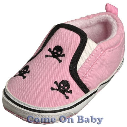 New Infant Girls Toddler Baby Crib Shoes 9-12m (c00201)