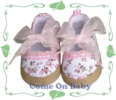 New Infant Girls Toddler Baby Maty Jane Shoes 3-6m (a05501)