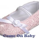 New Infant Girls Toddler Baby Maty Jane Shoes 6-9m (a03201)