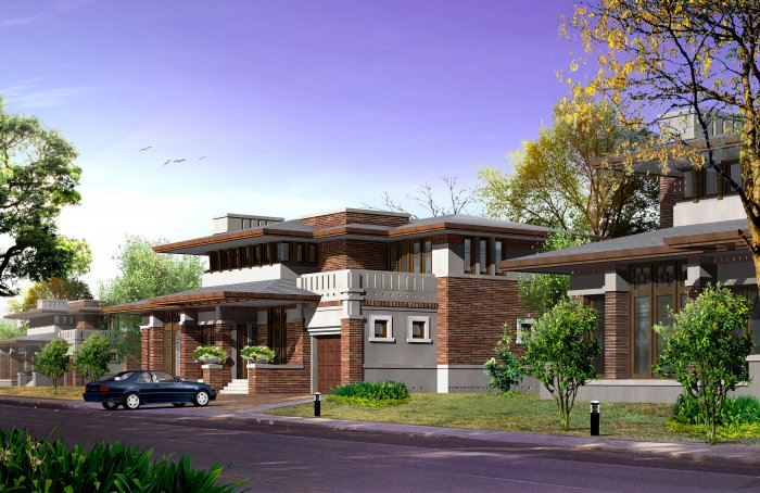 Asian Style 14683 Sqf Falling Water House Plan Cad File: asian style homes