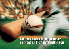 lot inspirational sports posters new scriptures athlete