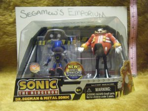 Dr. Eggman's Revenger 2-Pack Figure Set [Metal Sonic Jazwares SEGA]