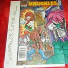 Knuckles the Echidna - Issue #14 - NM - [SEGA Comic Archie Sonic Hedgehog]