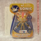 "Super Shadow the Hedgehog 7"" Figure [Sonic Super Poser SEGA Jazwares]"