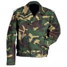 Diamond Plate™ Camouflage Motorcycle Jacket (Large)