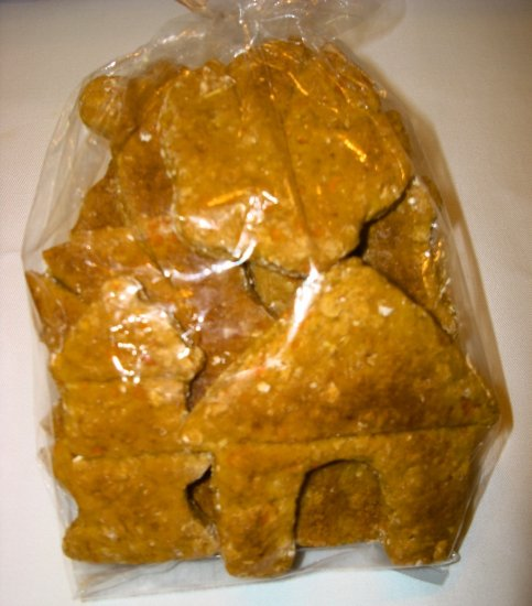 Pumpkin & Flax Seed Dog Treats, Large