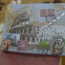 Small Note Pad Pocket Note Book Mail Shape Italy Post
