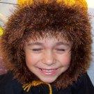 Lion Crochet Hat Pattern Size 5-7 child