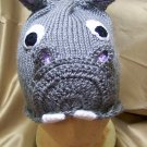 Knitted Hippo Beanie Hat Pattern