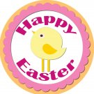 Easter Stickers Personalized Labels 2 inch Round Favor Tag for Easter Stickers Set of 20