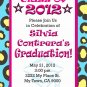 Graduation Invitation diy Printable Party Invites Personalized Custom Orders Cheetah Pattern