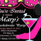 Bachelorette Party Cheetah  Invite DIY Custom Printable Bridal Shower Print at Home