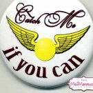 Harry Potter Golden Snitch Ball Buttons Personalized Buttons Custom Buttons and Pins