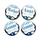 Mom to Be Button Badge Baby Shower Pin Back Button Personalized Buttons SET of 4