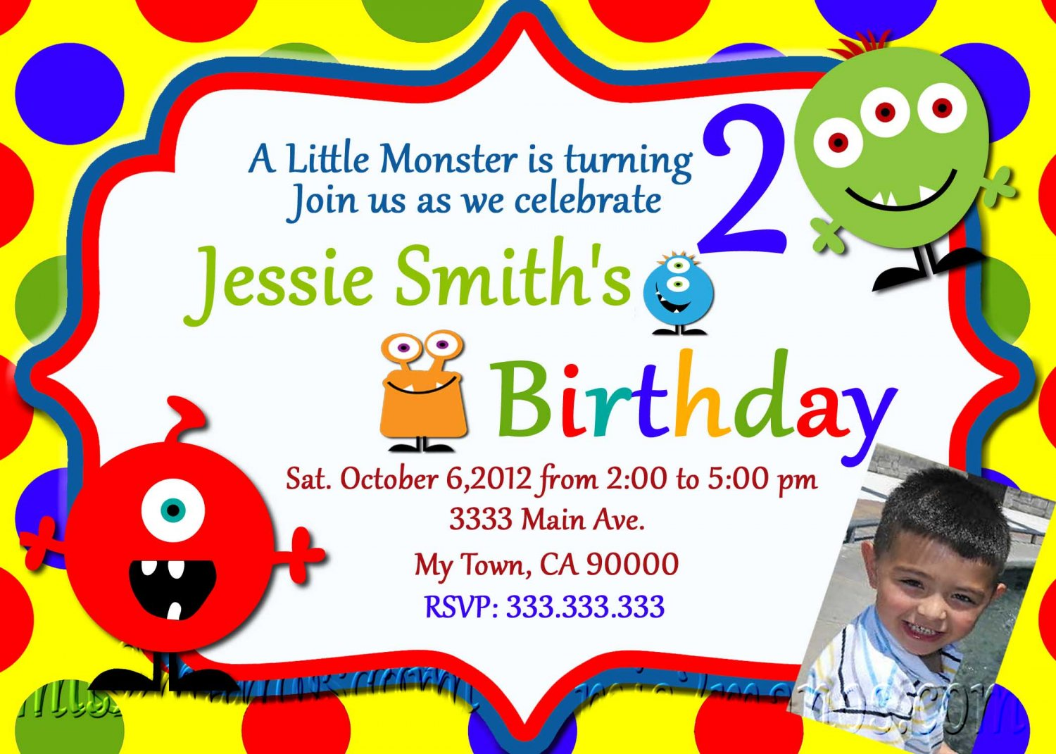 Monster Baby Shower Invites Little Monster Party Invitations – Monster Party Invites