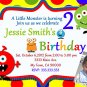 Monster Baby Shower Invites Little Monster Party Invitations Printable Little Monster baby