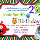 Monster Invites Little Monster Party Invitations Printable Little Monster baby
