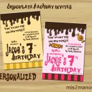 Willy Wonka Invitation Party Invitations Printable Little Monster baby