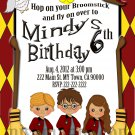 Harry Potter Invitation Party Invitations Printable Little Monster baby