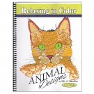 Relax in Color Animal Designs Coloring Book for Adults and Big Kids Coloring Pages