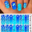 Jamberry Nail Wraps Blue Turtle Design  CUSTOM NAS