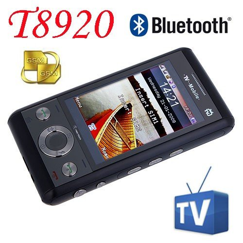 Xintai T8920 Quad Band Dual Cards With Analog TV Java Unlocked Touch Screen Cell Phone