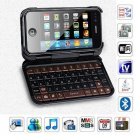 Dapeng T7000 Quad Band Dual Cards with Wifi TV Luxury QWERTY Keyboard Leather case Cell Phone