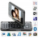 X8 Quad Band Dual Cards with Wifi Analog TV Java Leather Touch Screen Multifunction Cell Phone