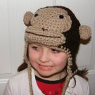 Curious George crochet beanie all sizes