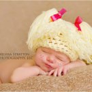Newborn photo prop cabbage patch kids inspired crochet hat photography halloween