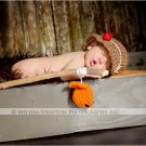 crochet  baby newborn bonnet beanie hat photo prop all sizes