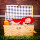 newborn little red riding hood cape and hat crochet photo prop