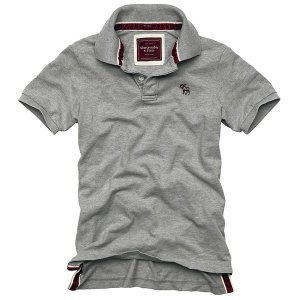 NWT Abrcrombie  Deer Brook Cools  Men Polos Grey