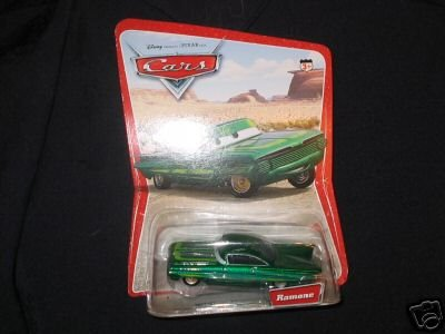 Disney Pixar Cars Movie Green Ramone FREE Shipping!