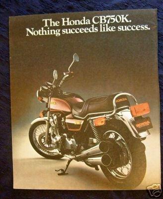 Vintage Print Ad 1981 Honda Motorcycle