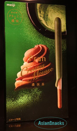 Japan Meiji Fran GREEN TEA matcha Japanese pocky cookie