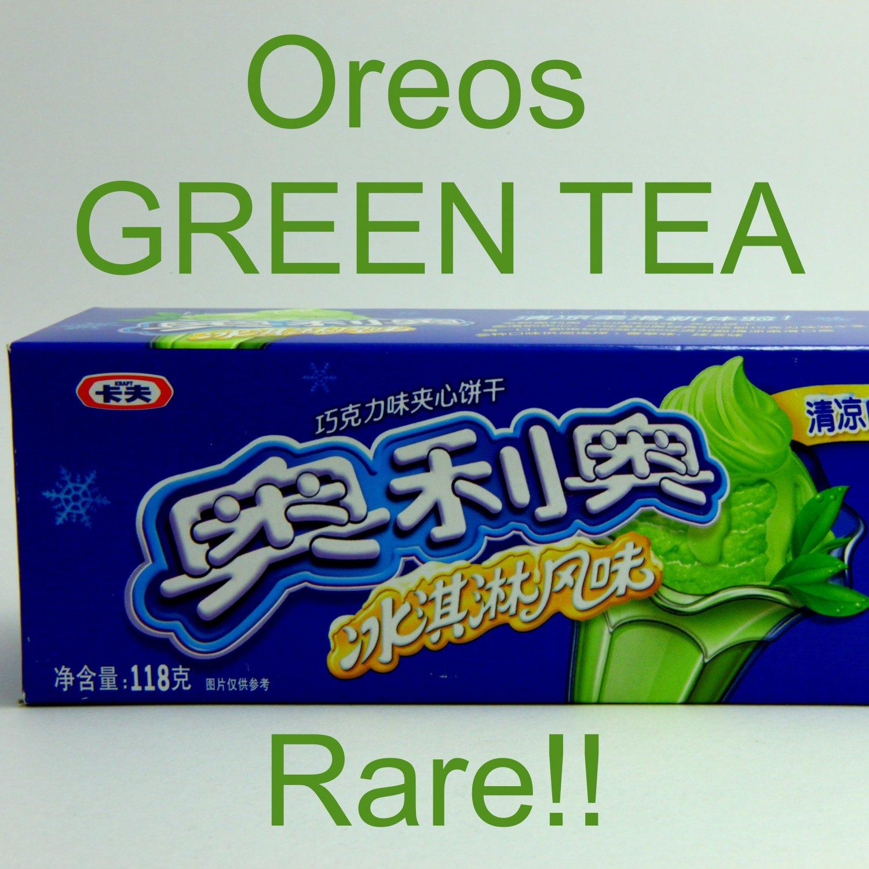 Oreo GREEN TEA Cookies