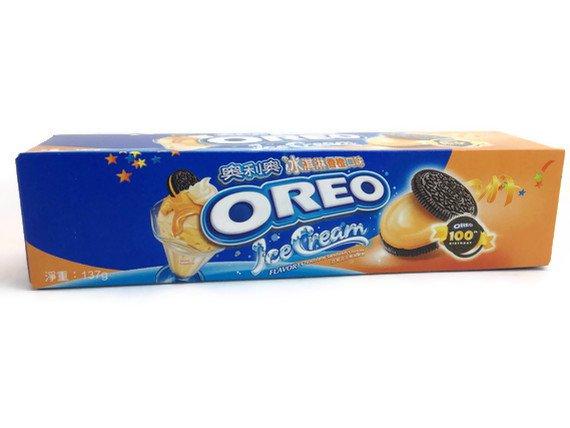 Oreo ORANGE flavor Cookies Large Box