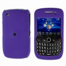 FOR BLACKBERRY CURVE 8520 8530 COVER HARD CASE PURPLE