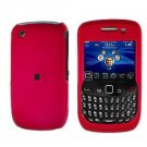 FOR BLACKBERRY CURVE 8520 8530 COVER HARD CASE ROSE PINK