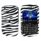 FOR BLACKBERRY CURVE 8520 8530 COVER HARD CASE ZEBRA