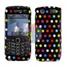 FOR BLACKBERRY PEARL 3G 9100 9105 COVER HARD CASE R-DOT