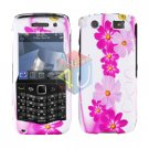 FOR BLACKBERRY PEARL 3G 9100 9105 COVER HARD CASE D-FLOWER