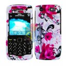 FOR BLACKBERRY PEARL 3G 9100 9105 COVER HARD CASE W-FLOWER