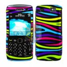 FOR BLACKBERRY PEARL 3G 9100 9105 COVER HARD CASE RAINBOW